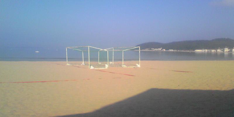 ビーチサッカー in 津屋崎