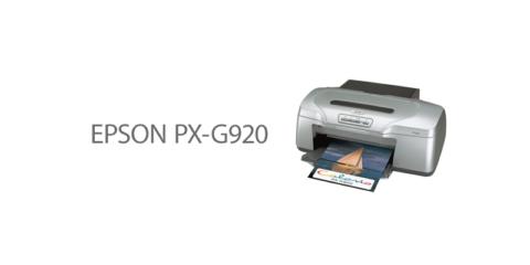 EPSON PX-G920 復活!
