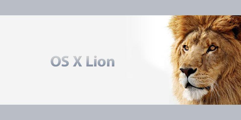 MacOSX Lion リリース