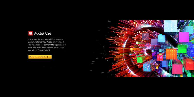adobe Creative Suite 6 発表