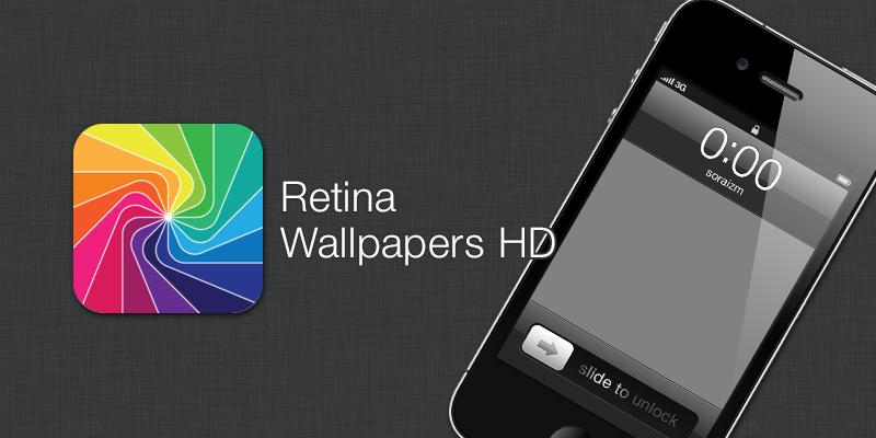 Retina Wallpapers HD [ iPhone App ]