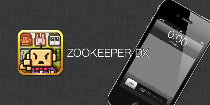 ZOOKEEPER DX Touch Edition [ iPhone App ]