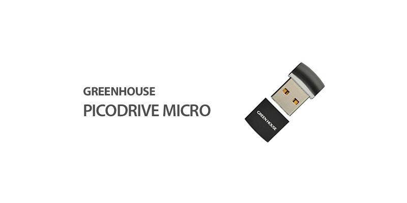 GreenHouse PicoDrive Micro(GH-UFD16GMCR)