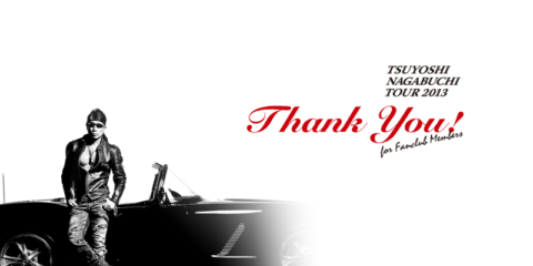 長渕剛 TOUR 2013 Thank You!