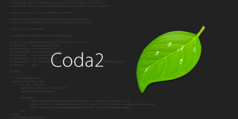 Coda2に環境移行