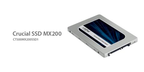 Crucial MX200 SSD ファームウェアをアップデート