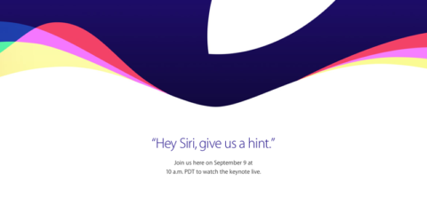 Apple Special Event「Hey Siri, give us a hint.」
