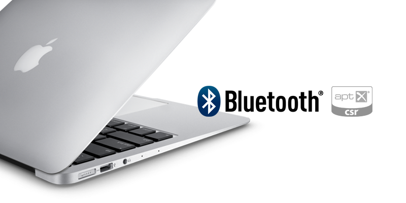 MacBook airのBluetooth(aptX)を有効化