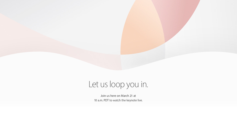 Apple Special Event「Let us loop you in.」