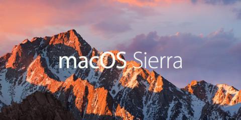 macOS 10.12 Sierra リリース