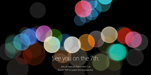 Apple Special Event「See you on the 7th.」