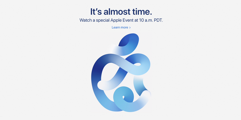 "Apple Event ""It's almost time."""
