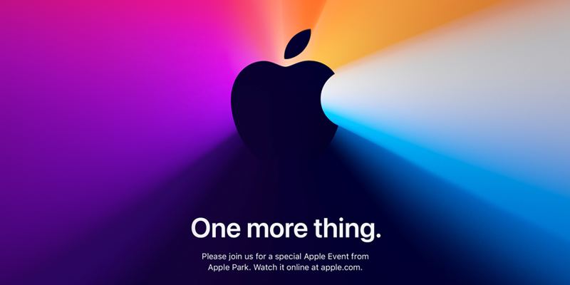 "Apple Event ""One more thing."""
